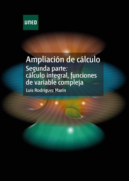REF10202 AMPLIACION DE CALCULO SEGUNDA PARTE CALCULO INTEGRAL, FUNCION