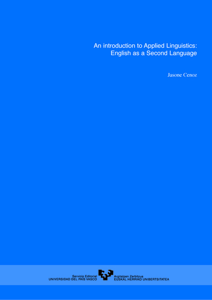 AN INTRODUCTION TO APPLIED LINGUISTICS : ENGLISH AS A SECOND LANGUAGE