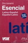 EDIC. ANTIGUA DICCIONARIO ESENCIAL LATINO-ESPAÑOL, ESPAÑOL-LATINO
