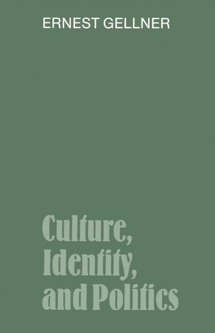 CULTURE, IDENTITY, AND POLITICS