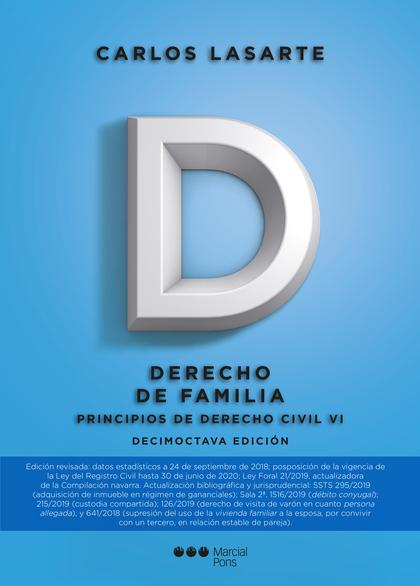 PRINCIPIOS DE DERECHO CIVIL, VI 2019.