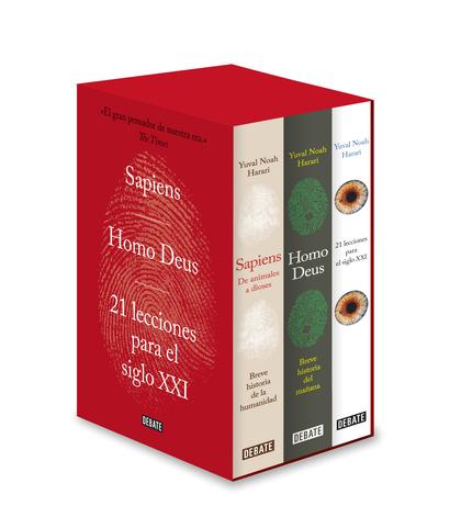 ESTUCHE DE LA TRILOGÍA HARARI. SAPIENS / HOMO DEUS / 21 LECCIONES PARA EL SIGLO XXI