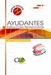 OPOSICIONES AYUDANTES DE INSTITUCIONES PENITENCIARIAS. TEST COMPLEMENTARIO