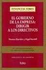 GOBIERNO EMPRESA DIRIGIR DIRECTIVOS