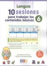 10 SESIONES PARA TRABAJAR CONTENIDOS BASICOS 6.