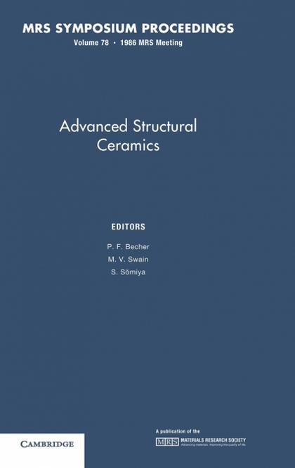 ADVANCES IN STRUCTURAL CERAMICS