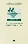 MODELOS POLITÓMICOS DE RESPUESTA AL ÍTEM
