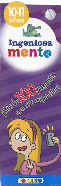 INGENIOSA MENTE 10- 11 AÑOS