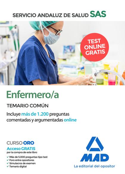 ENFERMERO/A DEL SERVICIO ANDALUZ DE SALUD. TEMARIO COMÚN.
