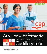 AUXILIAR DE ENFERMERÍA DE LA ADMINISTRACIÓN DE LA COMUNIDAD DE CASTILLA Y LEÓN..
