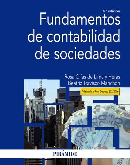 FUNDAMENTOS DE CONTABILIDAD DE SOCIEDADES.