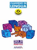 TRES DE PRIMARIA, LENGUA, 6 EDUCACIÓN PRIMARIA, 1 CICLO. CUADERNO