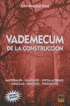 VADEMECUM DE LA CONSTRUCCION.