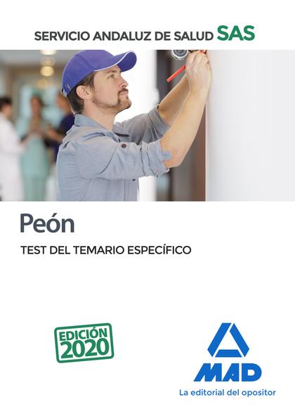 PEÓN DEL SERVICIO ANDALUZ DE SALUD. TEST.