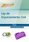 LEY DE ENJUICIAMIENTO CIVIL. TEST