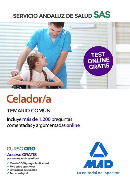 CELADOR/A DEL SERVICIO ANDALUZ DE SALUD. TEMARIO COMÚN.
