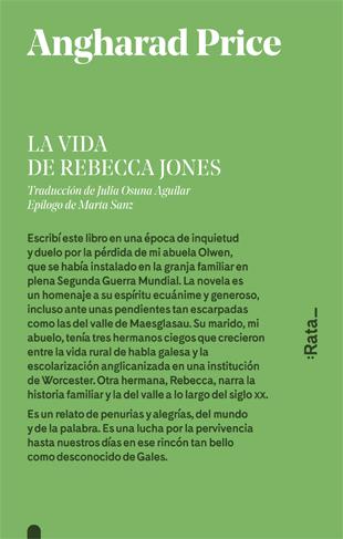 LA VIDA DE REBECCA JONES.