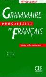 GRAMMAIRE PROGRESSIVE DU FRANCAISE N.AVANCE
