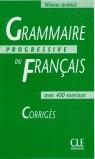 GRAMMAIRE PRO.DU FRANCAIS AVEC 400 EXERCISE CORRIGES  AVANCE