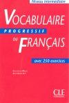 VOCABULAIRE DU FRANCAIS PROGRESSIVE INTERMEDIARE