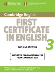 CAMBRIDGE FIRST CERT ENG UPDATED 3 ST