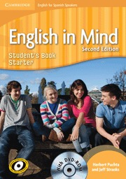 ENGLISH IN MIND FOR SPANISH SPEAKERS, ESO, STARTER LEVEL