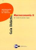 MICROECONOMÍA II : GUÍA DIDÁCTICA