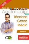OPOSICIONES TÉCNICOS GRADO MEDIO, JUNTA DE ANDALUCÍA. TEST COMÚN