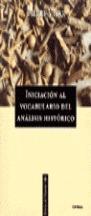 INICIACION VOCABULARIO ANALISIS HISTORICO