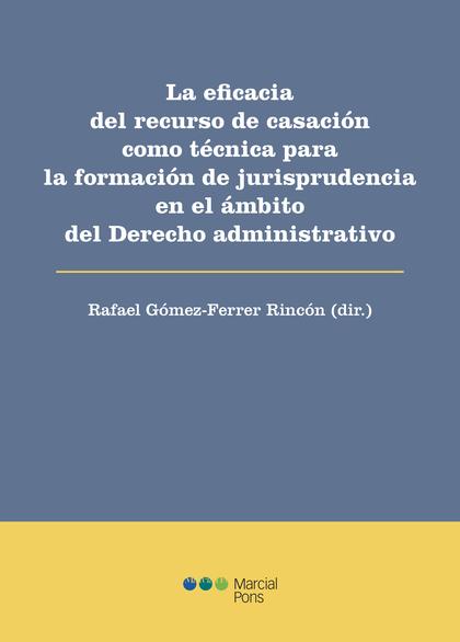 EFICACIA DE DEL RECURSO DE CASACION COMO TECNICA PARA FORMA