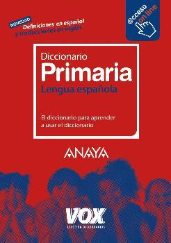 EDIC. ANTIGUA DICCIONARIO PRIMARIA LENGUA ESPAÑOLA VOX