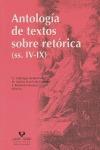 ANTOLOGÍA DE TEXTOS SOBRE RETÓRICA (SS. IV-IX)