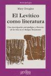 EL LEVÍTICO COMO LITERATURA = [LEVITICUS AS LITERATURE]