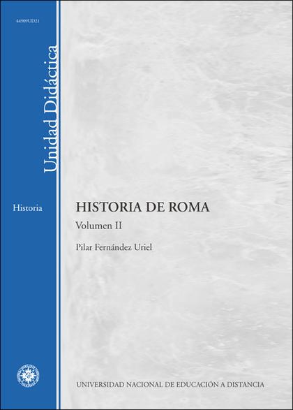 UD. II. HISTORIA DE ROMA.