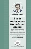 BREUS NOTES SOBRE LITERATURA-BLOOM                                              MANIFEST: DICCI