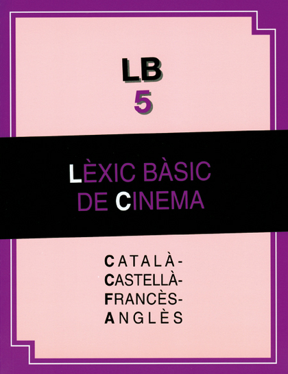 LÈXIC BÀSIC DE CINEMA