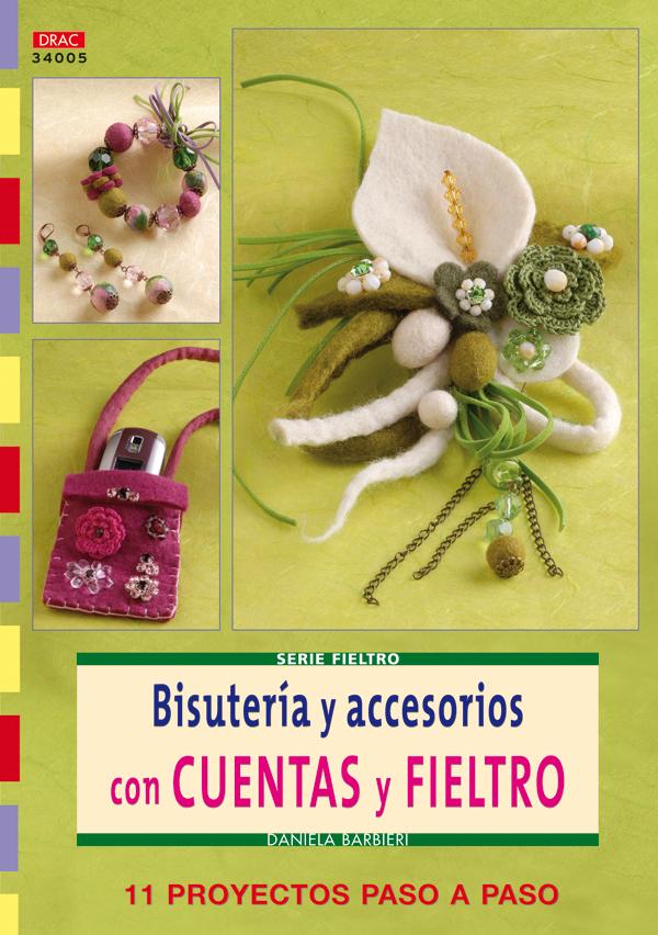BISUTERÍA Y ACCESORIOS CON CUENTAS Y FIELTRO