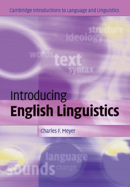 INTRODUCING ENGLISH LINGUISTICS.