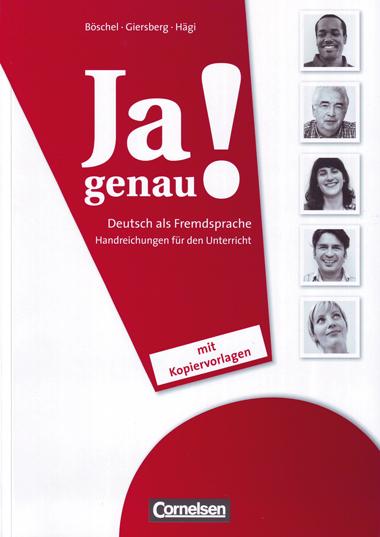 JA GENAU! A1: HANDREICHUNGEN FÜR DEN UNTERRICHT                                 HANDREICHUNGEN