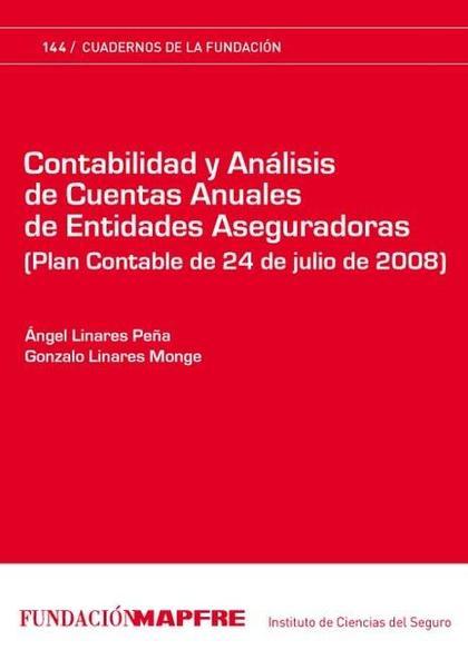 Contabilidad y Análisis de Cuentas Anuales de Entidades Aseguradoras