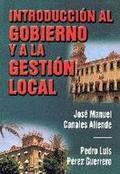 INTRODUCCIÓN AL GOBIERNO Y A LA GESTIÓN LOCAL