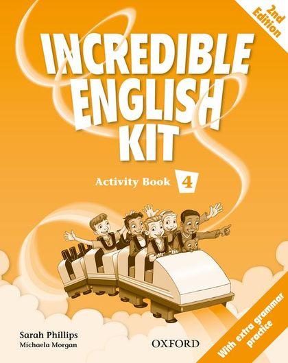INCREDIBLE ENGLISH KIT 4 ACTIVITY BOOK 2E (ES).