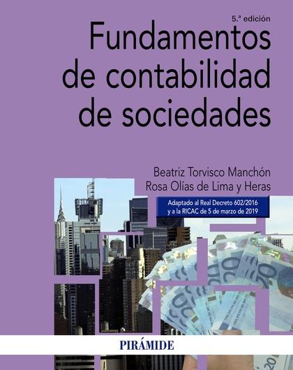FUNDAMENTOS DE CONTABILIDAD DE SOCIEDADES 5ED.