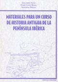 MATERIALES PARA UN CURSO DE HISTORIA ANTIGUA DE LA PENÍNSULA IBÉRICA