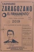 CALENDARIO ZARAGOZANO 2019.