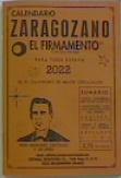 CALENDARIO ZARAGOZANO 2022.
