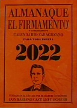 ALMANAQUE EL FIRMAMENTO 2022 ZARAGOZANO.