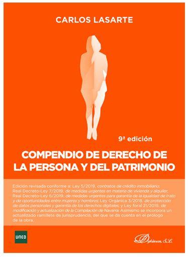 COMPENDIO DE DERECHO DE LA PERSONA Y EL PATRIMONIO.