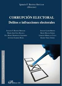 CORRUPCIÓN ELECTORAL. DELITOS E INFRACCIONES ELECTORALES.
