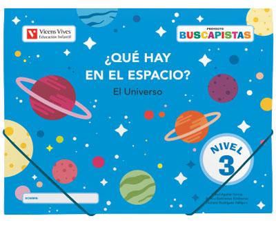 BUSCAPISTAS N-3 ¿QUE HAY EN EL ESPACIO? (P5).